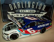 Trevor Bayne 2016 Advocare Darlington Throwback #6 Ford 1/24 NASCAR Diecast