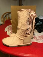 Rare Pink UGG Boots Size 6,fit More Like 7