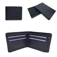 Golunski BM-602: Mens Quality Smooth Nappa Leather Notecase In Black.