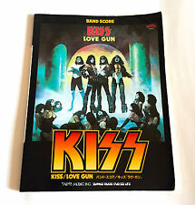 KISS Love Gun JAPAN BAND SCORE BOOK w/TAB Gene Simmons Paul Stanley Peter Criss