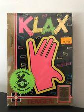 Klax (Nintendo NES, 1990) BRAND NEW, Factory Sealed