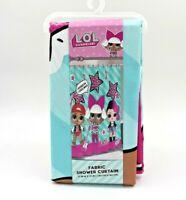 "L.O.L. Surprise! Kids Bathroom Decorative Fabric Shower Curtain, 72"" x 72"""