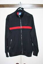 Adidas GioIa Limited Track Jacket Zip Multi Black Red Athletic Hip Men L Poly