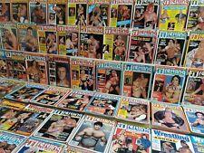 Pro Wrestling Illustrated WWF Magazine NEAR COMPLETE (138) Run Lot 1979-1992
