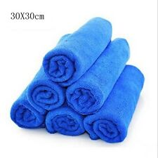 10 x Large Microfibre Cleaning Auto Car Detailing Soft Cloths Wash Towel Duster