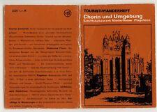 Chorin u. Umgeb. Niederfinow Plagefenn  Wanderheft 1979