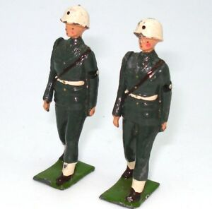 BRITAINS FROM SET NO. 2021 TWO U.S.A. MILITARY POLICE FIGURES - RARE