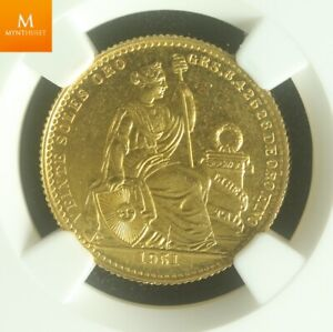 1951 Peru Gold 20 Soles NGC MS65 PL