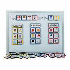 Sentence Building Magnets - Educational - 103 Pieces