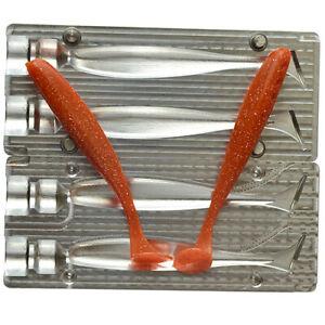 DIY CNC Aluminium Soft Plastic Lure Bait Mold Easy Shiner 4 inch 100 mm