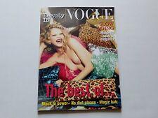 Cara Delevingne Beauty IN Vogue Italia Magazine November 2012 New