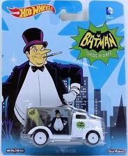 Batman 1966 Hot Wheels Pop Culture Penguin '49 Ford COE 1:64 Scale Car DC Comics