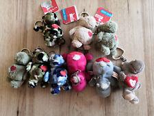 9 Nici Bean Bags Schlüsselanhänger Nilpferd