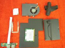 Toshiba A105-S391 Fan Hard Drive Caddy Rubber WiFi Card Door Cover Etc #121-80