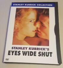 New listing Eyes Wide Shut (Dvd) Tom Cruise Nicole Kidman Stanley Kubrick drama Vg condition