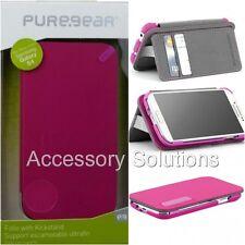 Samsung Galaxy S4 PureGear Credit Card Folio Case W/ Convertible Kickstand Pink
