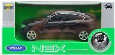 WELLY BMW X6 BLACK 1:34 DIE CAST METAL MODEL NEW IN BOX