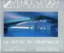 Italian Luciano Vistosi Bk Glass Sculpture Radical Architecture