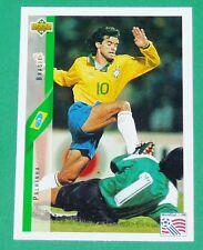 RARE FOOTBALL CARD UPPER DECK 1994 USA 94 PAHLINHA AURIVERDE BRESIL BRASIL