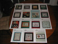 KINGSLAND - HUGE CROSS STITCH PATTERNS (25+) VARIETY !! GREAT BARGAIN!!!!!!