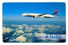DELTA AIR LINES Latvian Pocket Calendar 2001
