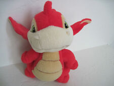 "7"" Neopets Red Dragon Plush~ Red Scorchio"