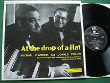 Michael Flanders & Donald Swann At the Drop of A Hat Final Live Performance LP