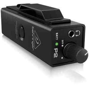 Behringer Powerplay P2 – Personal In-Ear Monitor Amplifier