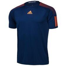 adidas Barricade Short Sleeve Men's T-shirt M Dark Blue