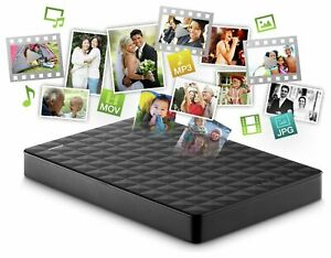 Seagate Expansion External Hard Drive 1TB Game Storage PS4 Xbox One Usb 3.0 HDD