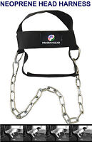 Weight Lifting Head Neck Harness Straps Fitness Strength Training
