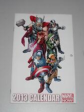 2013 CALENDAR #1 MARVEL NOW COMICS NM (9.4)