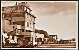 JERSEY postcard The Airport