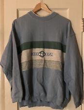 Vintage 90s Gotcha Surf Skate Grunge Crew Neck  Stripe Sweatshirt