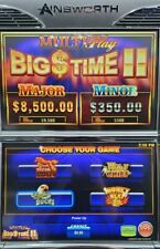 """AINSWORTH AGT A560 NSW AUSTRALIA SOFTWARE """"MULTI PLAY BIG TIME II"""" WITH GRAPHIC"""