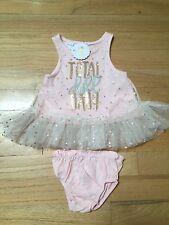 NWT Mud Pie Total Doll Baby Girls 0-3M Dress Tutu