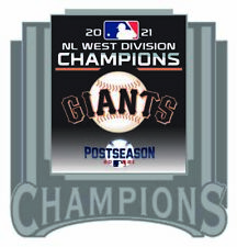 2021 San Francisco Giants Géants National League Broche Ouest Division Champs Du