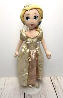 "Disney Store Rapunzel Tangled Plush Doll 21"" Wedding Dress Bride Stuffed Toy"
