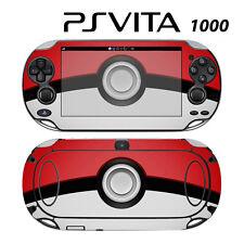 Vinyl Decal Skin Sticker for Sony PS Vita PSV 1000 Pokeball