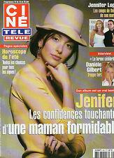 CINE REVUE 2004 N°25 jenifer daniele gilbert jennifer lopez montgomery clift