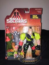 Small Soldiers Collectible Nick Nitro With Launching Dual Missle Pack 1998
