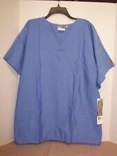 LANDAU 7502BNPLRG Scrub Shirt,L,Navy,Unisex