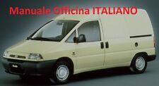Fiat SCUDO prima serie 1° mk1 (1996/2007) Manuale Officina Riparazione ITALIANO