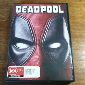Deadpool DVD R4 Like New! FREE POST