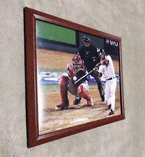 Boston Red Sox Dustin Pedroia Framed 8x10 Photo Yadier Molina World Series