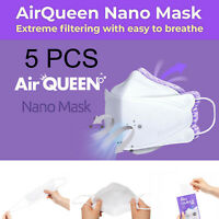 Air Queen Reusuable Breathable Facial Nano Made in Korea 5 PC
