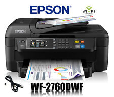 EPSON WorkForce WF-2760DWF 4-in-1 MULTIFUNKTIONS DRUCKER WIFI WLAN * NEU *