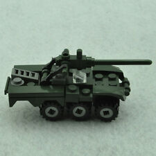 DIY Mini Anti-aircraft Military Minifigures Building Blocks Model Kits Kids Toy
