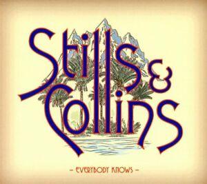 STILLS & COLLINS Everybody Knows 2018 CD NEW/SEALED Stephen Stills Judy Collins