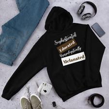 Unapologetically Melanated Hoodie V2 Unisex Sweatshirt- Christmas Gift